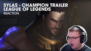 Sylas: The Unshackled   Champion Trailer - League of Legends - REACTION!