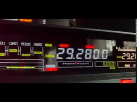 QSO 29Mhz FM/AM - Japan - France - JA3VKT / F5OUX