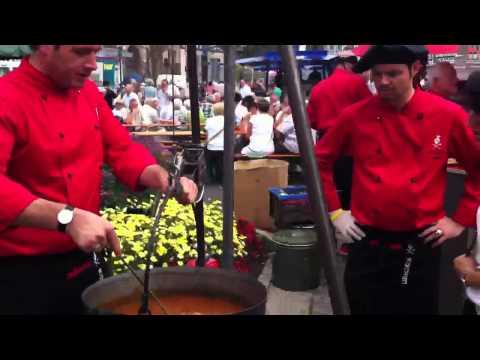 Wurschtfest 2011 Männerkochen