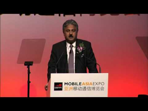 Mr. Sanjay Kapoor, CEO - Bharti Airtel at GSMA Mobile Asia Expo at Shanghai.