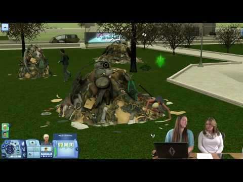 The Sims 3 Into The Future - Gameplay - Dystopian Future