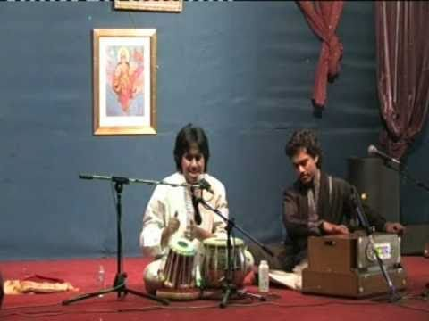 Aman performance at hindu cultural society.avi