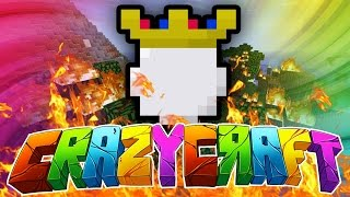 "Minecraft CRAZY CRAFT 3.0 #9 ""A LITTLE KING PROBLEM!"" (Lucky Block, The King, New Food!)"
