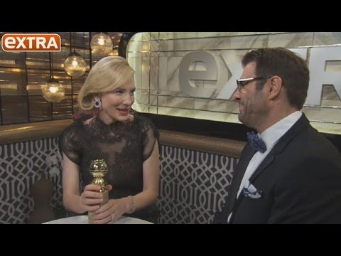 Backstage at Golden Globes: Cate Blanchett Praises Woody Allen For His Female Roles