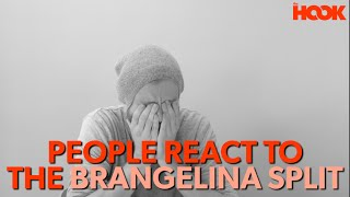 People React To The Brangelina Break-Up News (COMEDY SKIT)