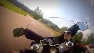 "Crash Suzuki GSX-R600 motorcycle track ""Firsanovka"""