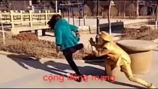 clip hai hài hước đường phố | thánh trêu ghẹo chơi ngu | Hài 2018 | Cười không nhặt được mồm P2