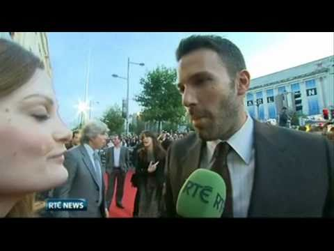 Ben Affleck In Dublin For 'The Town' Premiere