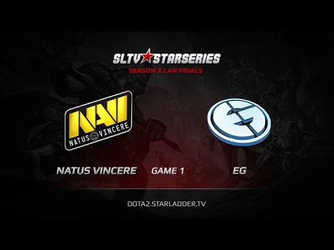 Na`Vi vs EG, SLTV StarSeries X Finals, Day 2, WB Game 1