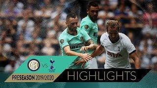 TOTTENHAM 1-1 INTER 3-4 pen | HIGHLIGHTS | 2019 International Champions Cup