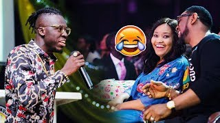 Akpororo tells Pastor Biodun his Church resembles a CLUB the church explodes | Coza Global