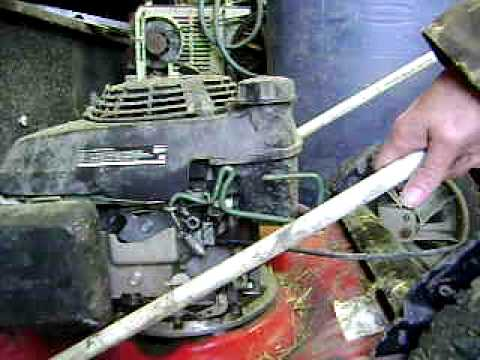 lawn mower repair 001-stop motor cable