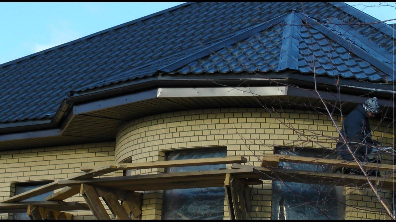 Как сделать подбой крыши