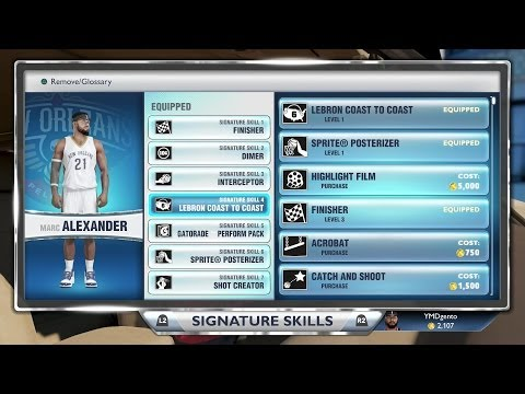 NBA 2K14 Next Gen MyCAREER - Attribute Upgrades! PS4