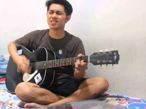 j-rock Semakin Sendiri acoustic solo (cover amateur by Rifan Yun