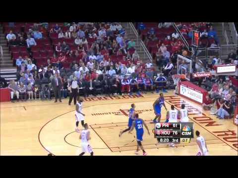 Jeremy Lin 林書豪 2014 03 27火箭vs76人 Rockets vs 76ers