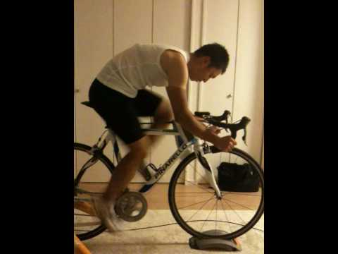Training with my Tacx Satori Pro