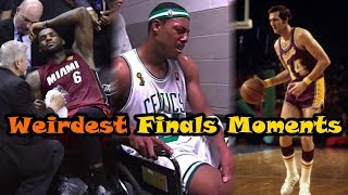 7 Of The WEIRDEST Moments In NBA Finals History!