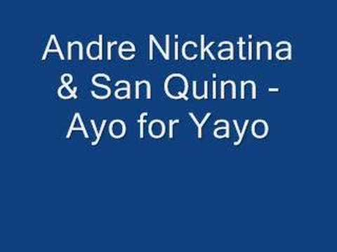 Andre Nickatina - A yo  for yao