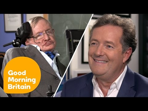 Stephen Hawking on Donald Trump's US: I Fear I May Not Be Welcome | Good Morning Britain