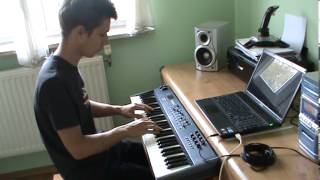 Armin Van Buuren feat. Laura Jansen - Sound Of The Drums (Piano Cover by Łukasz Plura)