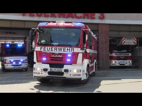 BMA DB-Museum: Löschzug FW 3 + HLF 1 FW 1 [Bullhorn] + FuStW + Baby-NAW JUH