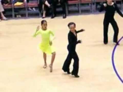 Khiêu vũ quốc tế U13  Cha Cha Dmitriy & Michelle Panorama