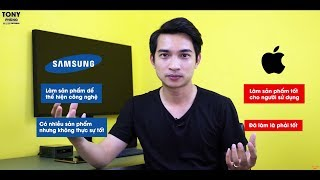 Apple đã làm sản phẩm là TỐT, Samsung...CHƯA CHẮC!