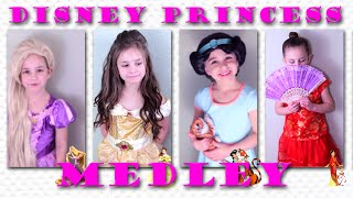 6-Year-Old Performs 4 Disney Princess Medley - Rapunzel, Belle, Jasmine, Mulan | SamlandTV