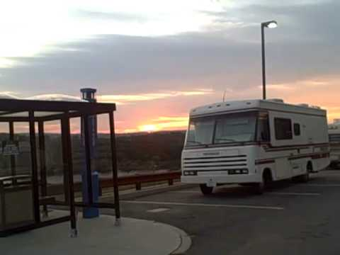SUNRISE at MOHEGAN SUN  RV parking area Free and secure