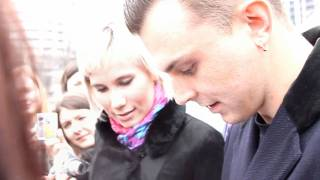 Theo Hutchcraft (HURTS) in Kyiv. Exclusive
