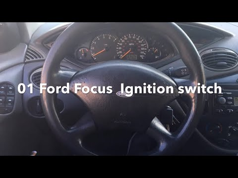 Ford Focus Auto (01-02-03) WON'T START Ignition Switch  / FAULTY Repair/ Locate a Starter Relay.