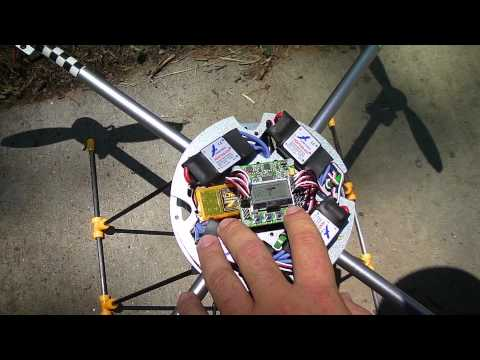 Turnigy HAL first flight and some KK2 calibration