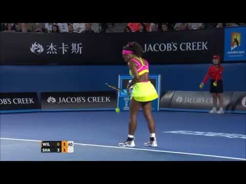 Serena Williams Hindrance (Final) - Australian Open 2015