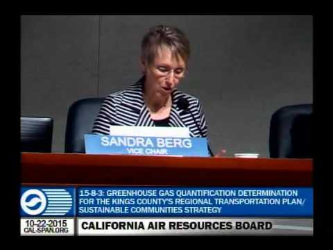 California Environmental Protection Agency - Air Resources Board Meeting October 22 2015