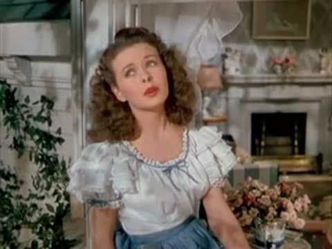 Jeanne Crain Tribute-Stardust Video
