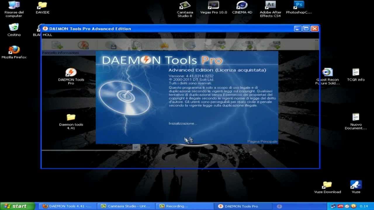 DAEMON Tools Pro 4.41 - Download + Crack - 2014. daemon tools русский скача
