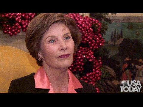 Laura Bush speaks on eve of leaving DC Video