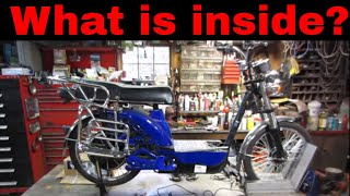 Free Electric Moped Tear Down