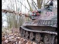 1/6 RC King Tiger RC Tank on reconnaisance in Ardenne Forest