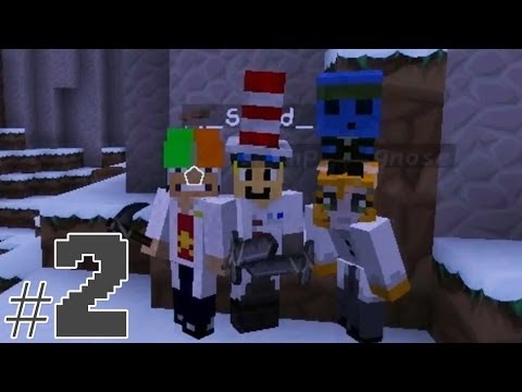 Minecraft - Race To The Moon - Mad Hatters! [2]