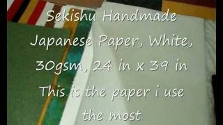 Origami Paper, Prepareing Of Paper And How I Make A Sqaure