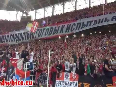Гимн Спартака в живом исполнении Кипелова (2014.09.05)