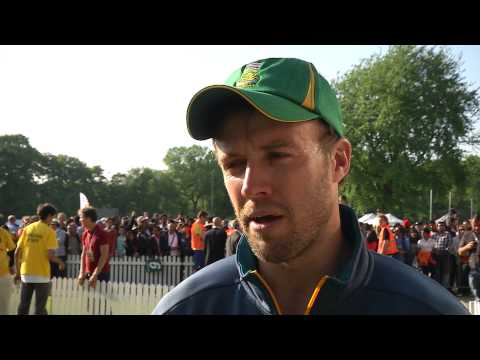 AB De Villiers Amsterdam Post Match Interview