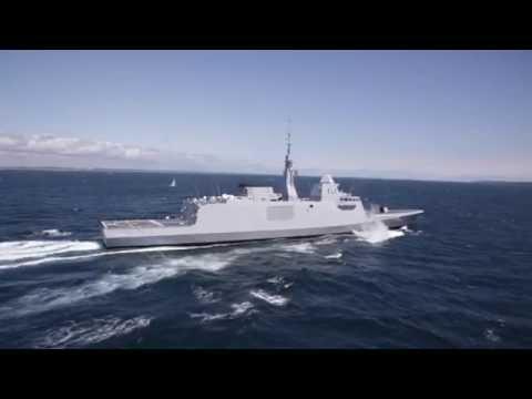 Egyptian Navy FREMM Frigate Tahya Misr sails to Egypt - تحيا مصر