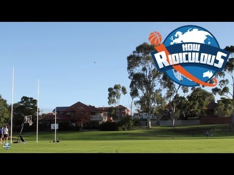 AFL Football Trick Shots - How Ridiculous
