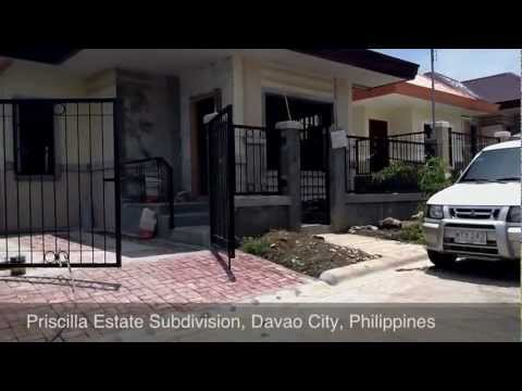 3 Bedrooms 2 Toilets and Baths House and Lot at Priscilla Estate Davao