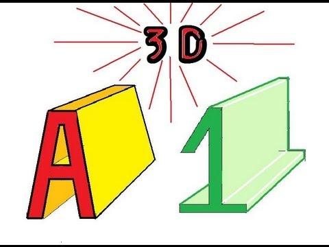 dessiner un jardin en 3d comment dessiner des chiffres en 3d