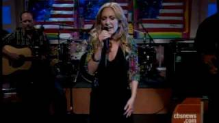 Lee Ann Womack Sings New Hit