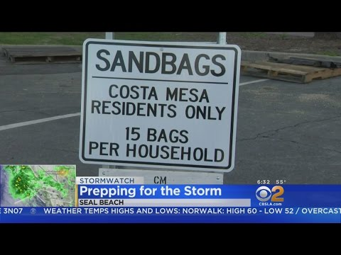 Powerful Storm Set To Descend On SoCal Friday